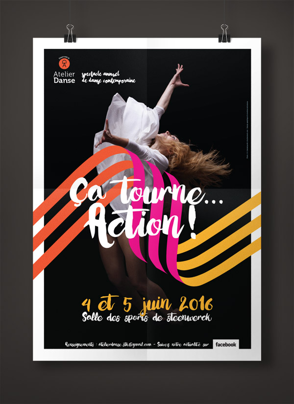 Atelier de Danse Contemporaine de Steenwerck - Affiche édition 2015