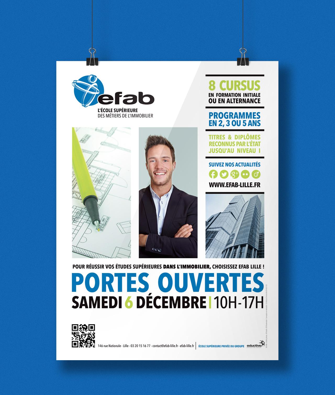Affiche JPO EFAB