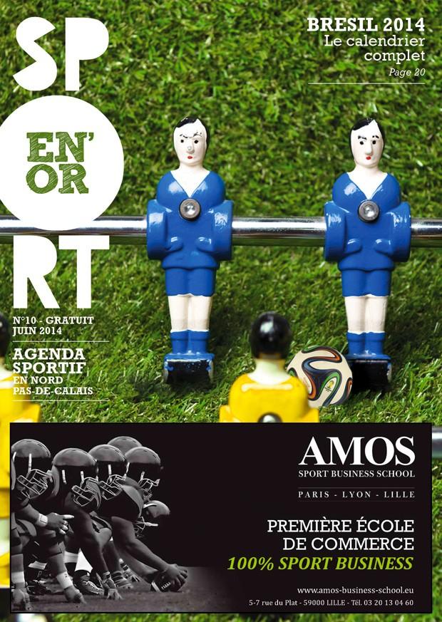 Couverture de l'agenda Sport en Or numéro 10