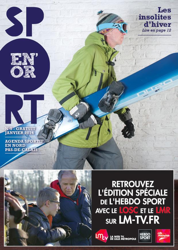 Couverture de l'agenda Sport en Or numéro 5