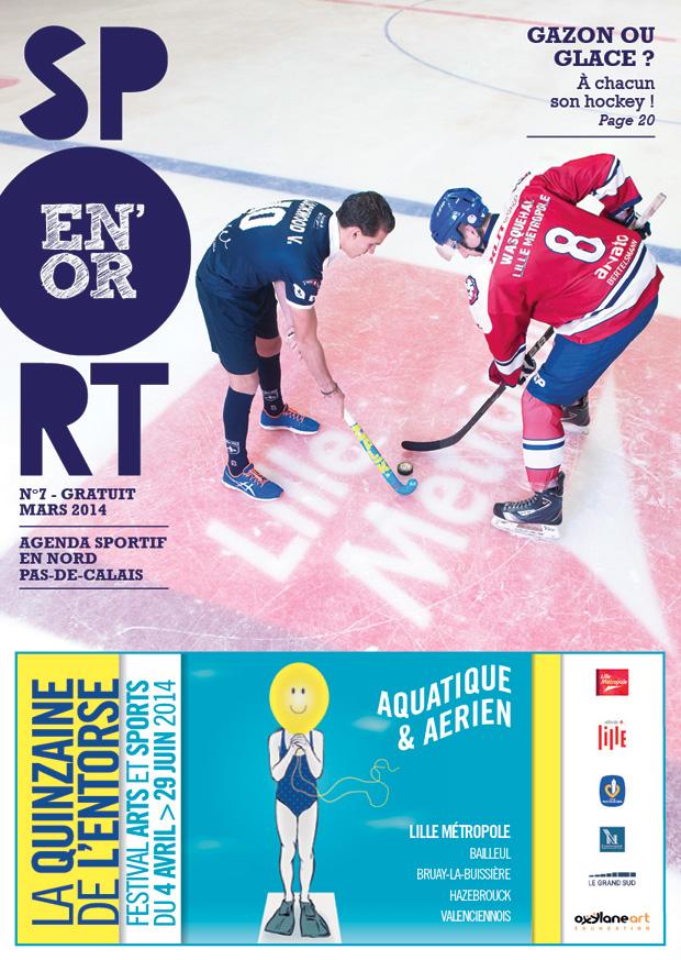 Couverture de l'agenda Sport en Or numéro 7
