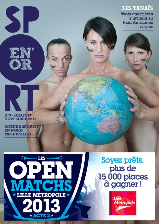 Couverture de l'agenda Sport en Or numéro 3