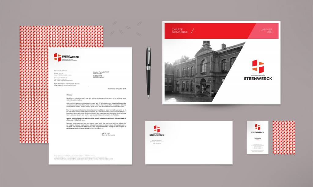 Identité visuelle de la commune de Steenwerck