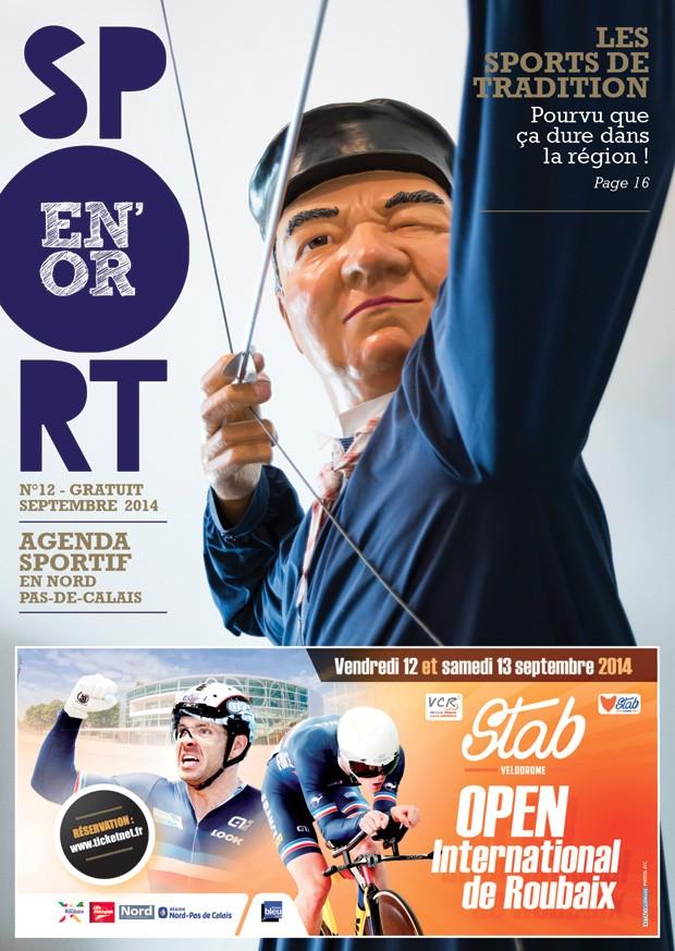 Couverture de l'agenda Sport en Or numéro 12
