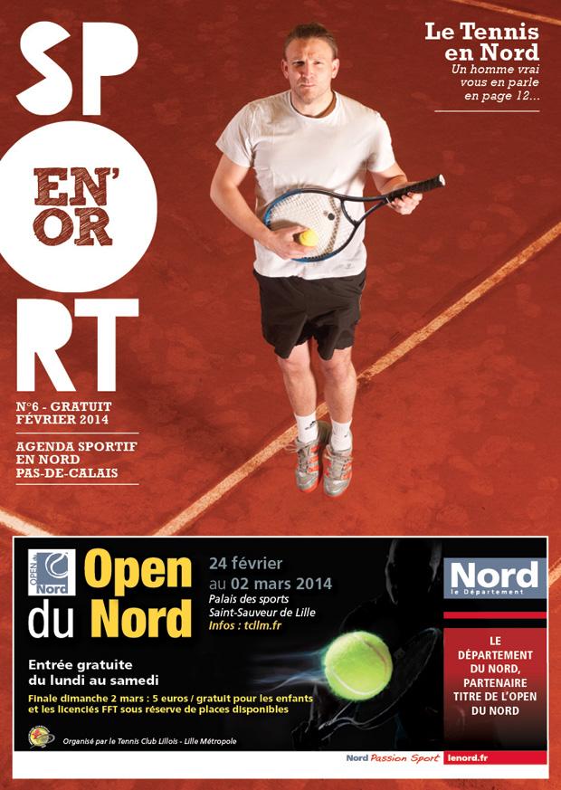 Couverture de l'agenda Sport en Or numéro 6