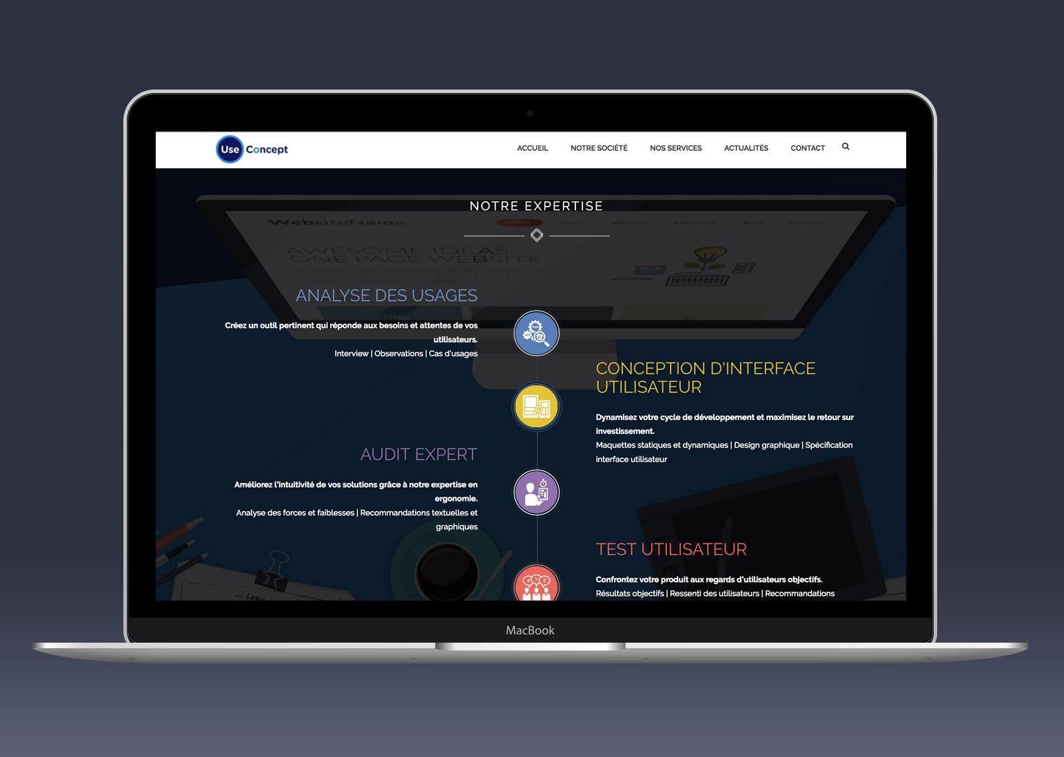 Site internet responsive UseConcept